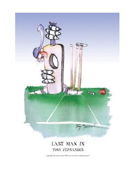 Last Man In - signed print